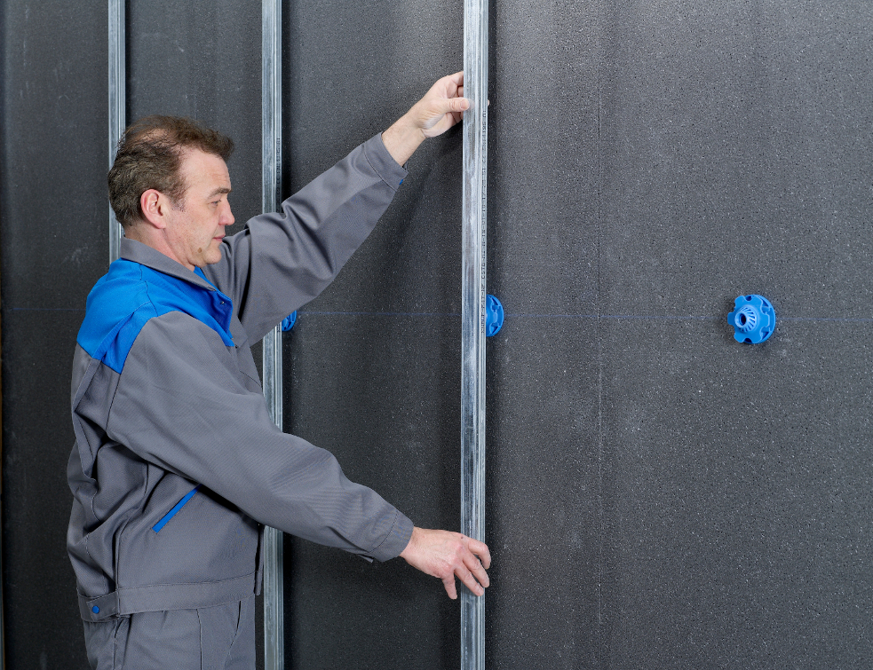 Murs isolés par l'intérieur : les systèmes gagnent en performance